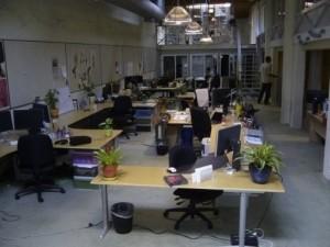 Twitter office.