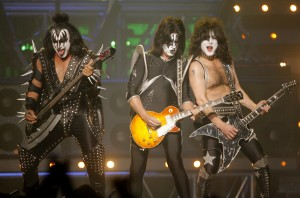 Kiss. A popular American 'Rock Band.'