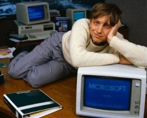 Bill Gates: Also a dropout.